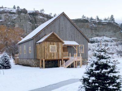 Montana Gristmill featured on Magnolia Show 1
